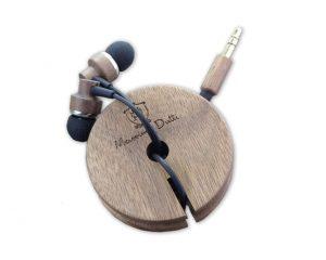 auriculares madera